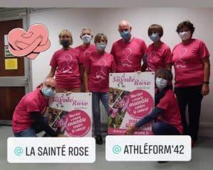 equipe Athlegorm 42 sainté rose 2020